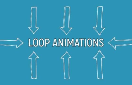 AE模板 30多个粉笔手绘MG图形动画元素工具包 Drawn Elements