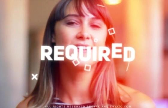 AE模板 图文标题介绍促销宣传视频幻灯片 Event Promo