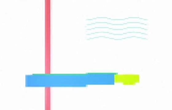 AE模板 干扰故障图形动画游戏Logo片头 Glitch Game logo