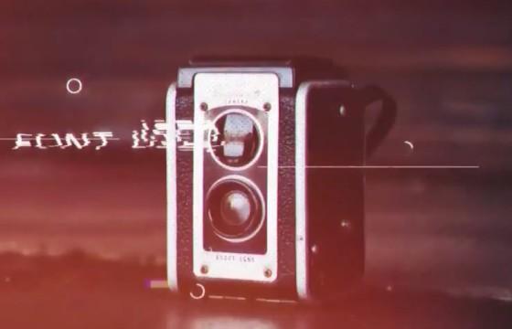 AE模板 画面干扰故障损坏 光线漏光幻灯片 Glitchy Promo
