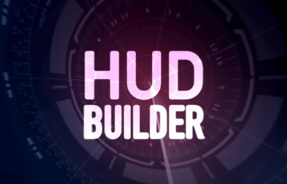 AE模板 HUD科幻元素生成 VideoHive HUD Builder