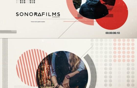 AE模板 画面干扰图片文字排版幻灯片 International Typography v3