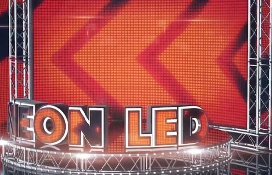 AE模板 LED大屏灯架 霓虹灯文字LOGO片头 LED Neon Screen