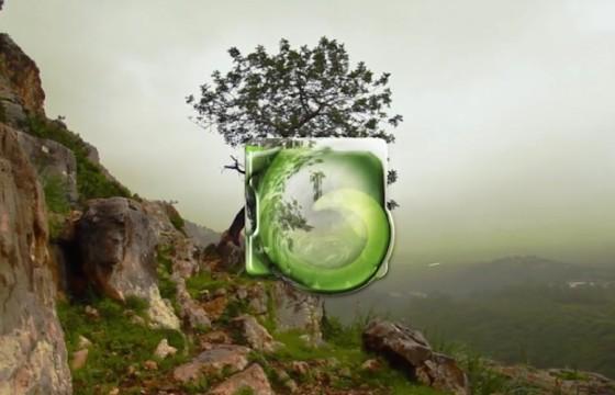 AE模板 液体玻璃透明LOGO演绎片头动画 Liquid Glass Logo