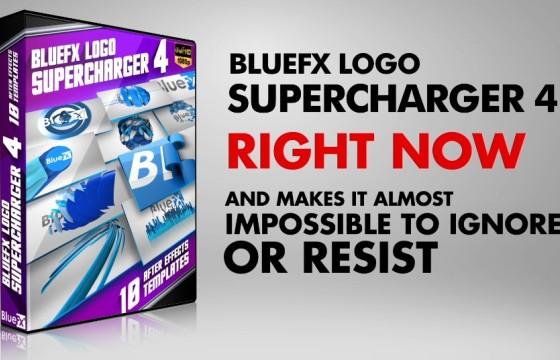 AE模板 10个LOGO标志开场片头展示 Logo Supercharger