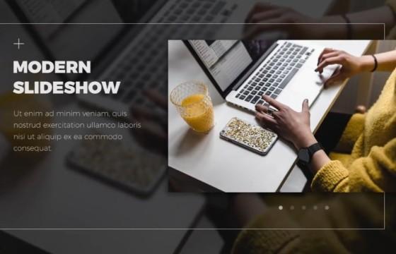 AE模板 公司企业产品业务人物介绍说明幻灯片 Modern Slideshow