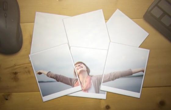 AE模板 创意照片相册和LOGO展示 Photo Gallery and Logo Reveal