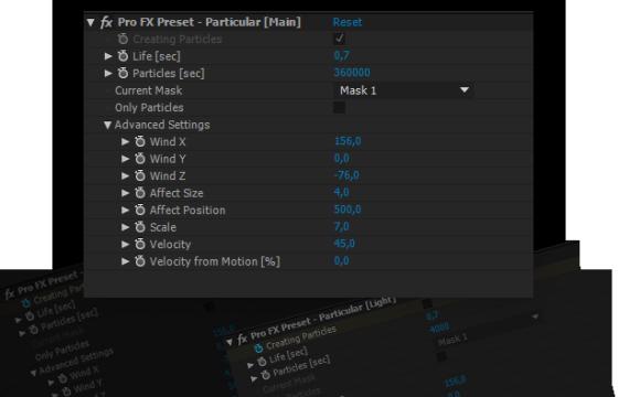 AE脚本 24种Particular粒子超酷消散汇聚特效脚本预设 粒子Pro FX Script