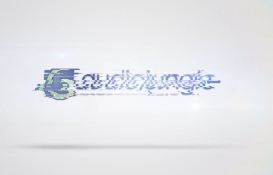 AE模板 LOGO标志画面干扰转换 Videohive Quick Clean Glitch Logo