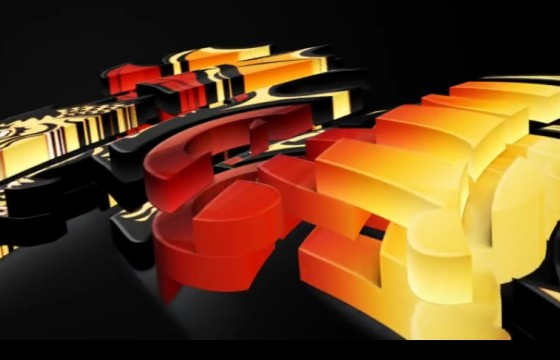 AE模板 三维层叠3D LOGO文字标志展示片头 Realistic Cascading 3D Logo