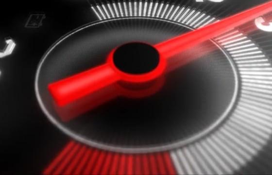 AE模板 时速表汽车提速LOGO标志显示片头 Redline