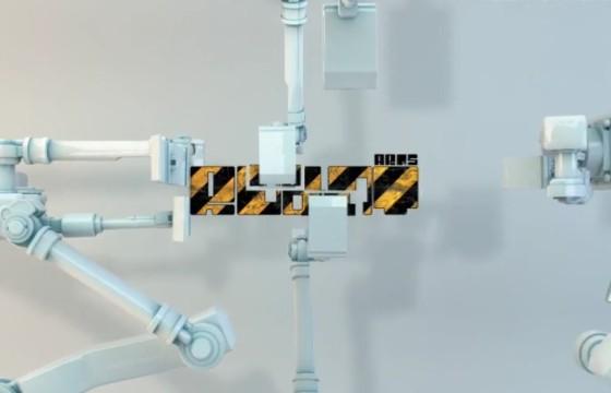 AE模板 智能机器人手臂LOGO标志制造 Robot Arms Logo