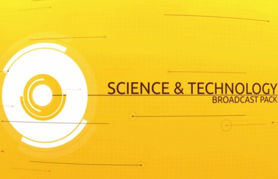 AE模板 数码科技产品促销介绍展示字幕条图形动画 SciTech
