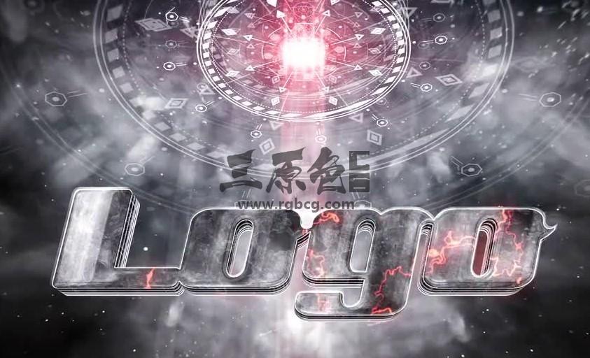 AE模板 太空飞船电影LOGO标志片头 Spaceship Cinematic Logo Ae 模板-第1张