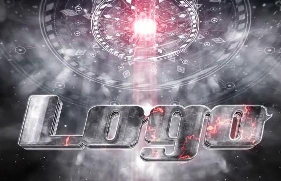 AE模板 太空飞船电影LOGO标志片头 Spaceship Cinematic Logo