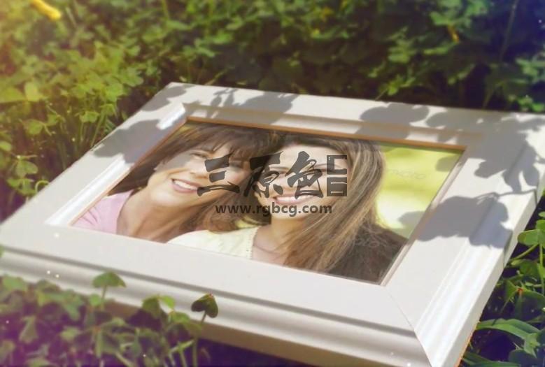 AE模板-大自然春季家庭照片展示幻灯片 Spring Family Slideshow Ae 模板-第1张