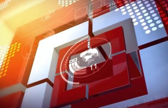 AE模板 新闻节目栏目包装视频片头 Square News Package