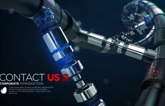 AE模板 化学生物科技企业公司介绍 Techno Corporate