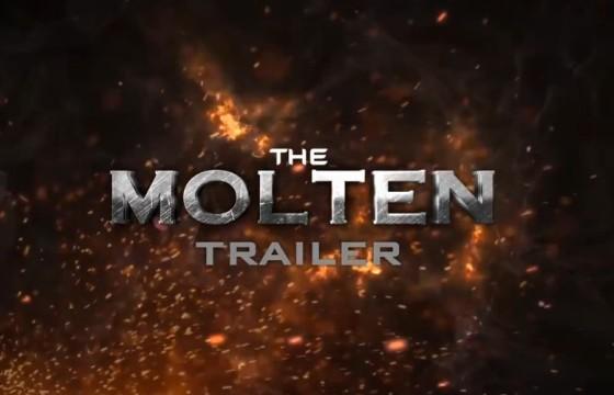 AE模板 熔岩粒子飞舞 电影预告片头 The Molten Trailer