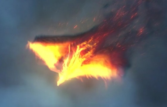 AE模板:浴火凤凰LOGO动画显示片头 The Pheonix Fire Reveal