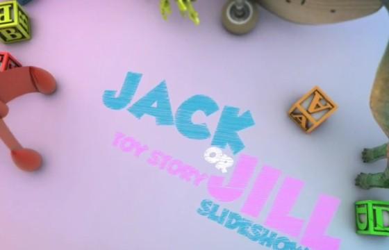 AE模板 儿童玩具总动员相册幻灯片 Toy Story Slideshow
