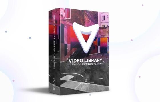 AE脚本模板 视频库视频预设包 Video Library Video Presets Package