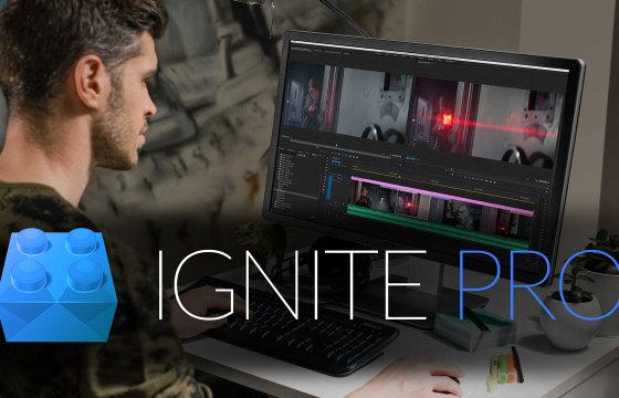Ae Pr 枪火特效合成插件合集套装 FXhome Ignite Pro v4.0 安装破解版