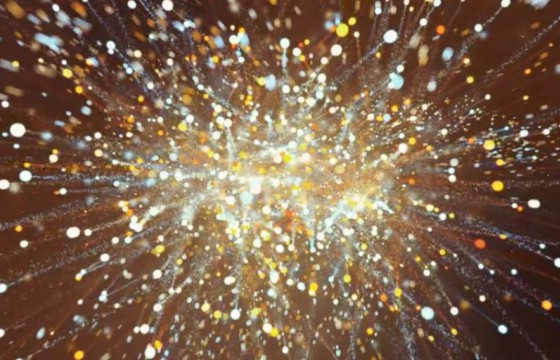 AE模板 4K烟花粒子爆炸汇聚LOGO文字标志片头展示 Dark Star