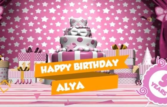 AE模板 生日蛋糕气球卡通动画幻灯片 Birthday Slideshow