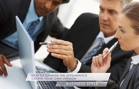 AE模板 企业公司字幕条幻灯片工具包 Clean Corporate Package