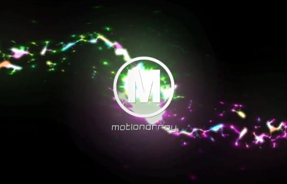 AE模板 彩色发光粒子爆炸LOGO片头 Color Explosion Logo
