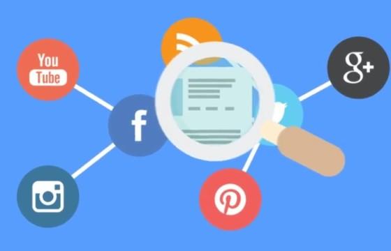 AE模板 MG图形内容营销广告图标动画 Content Marketing Opener
