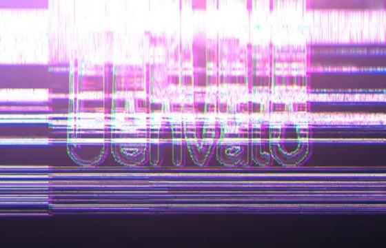AE模板-故障损坏失真LOGO开场片头 Distortion Glitch Logo