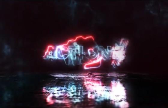 AE模板 文字标题LOGO闪电描边特效片头 Lighting Logo