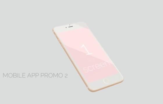 AE模板 手机移动APP应用展示促销广告 Mobile App Promo 2