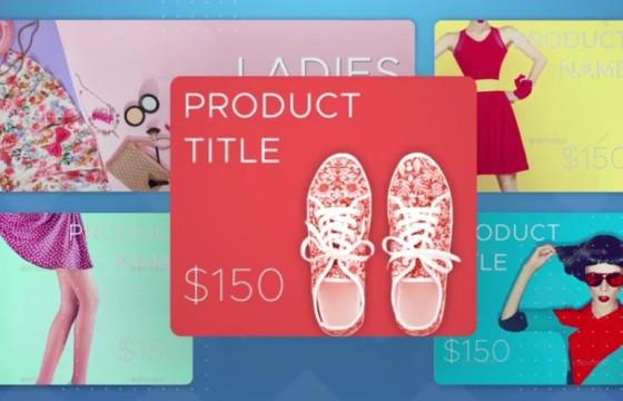 AE模板 网络店铺商品促销广告 Online Shop Promo