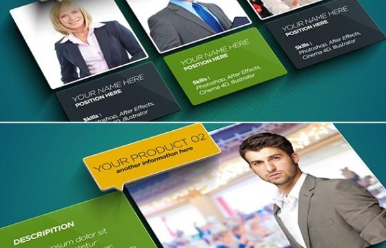 AE模板 创意企业公司人物概述简介 Overview Introduction