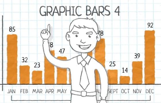 AE模板 铅笔手绘卡通树状数据信息图表 Paper Presentation