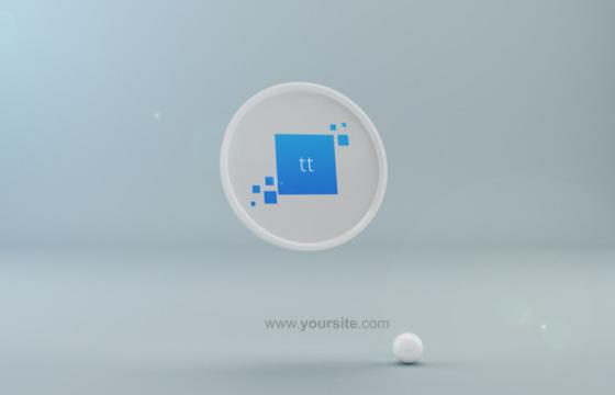 AE模板 液体形状LOGO标志显示动画 Quick Blob Logo