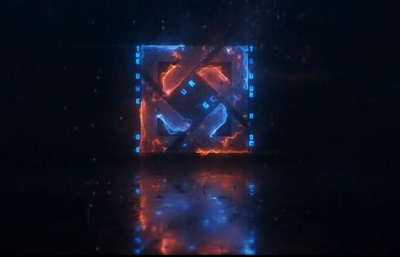 AE模板 科幻LOGO标志描边特效动画片头 Sci-Fi Logo