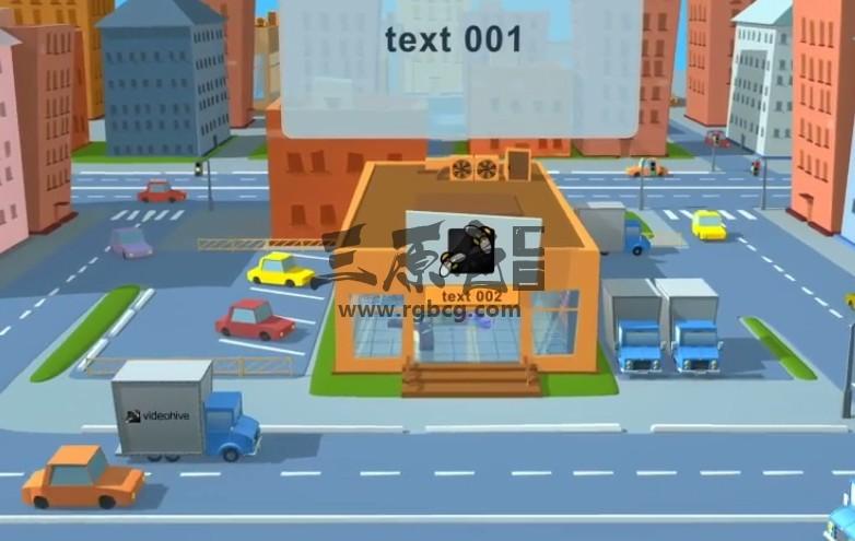 AE模板 卡通城市商店便利店LOGO动画展示片头 Videohive Shop Ae 模板-第1张