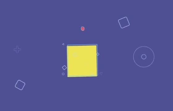 AE模板 简单的MG弹性液体图形LOGO动画 Simple Shapes Logo