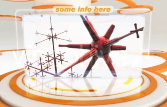 AE模板-三维HUD企业公司产品展板 Smooth business