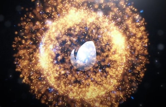 AE模板 球形粒子光效爆炸LOGO动画片头 Spherical Logo Intro