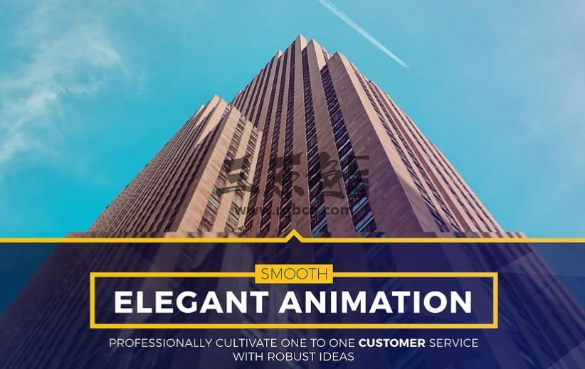 AE模板 时尚的幻灯片和动态标题动画 Stylish Slides and Titles Ae 模板-第1张
