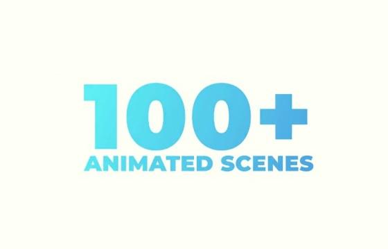 AE模板 100多个文字标题排版动画 VideoHive Titles