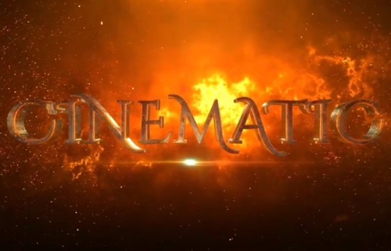 AE模板 电影游戏预告片三维文字E3D模板 VideoHive Trailer