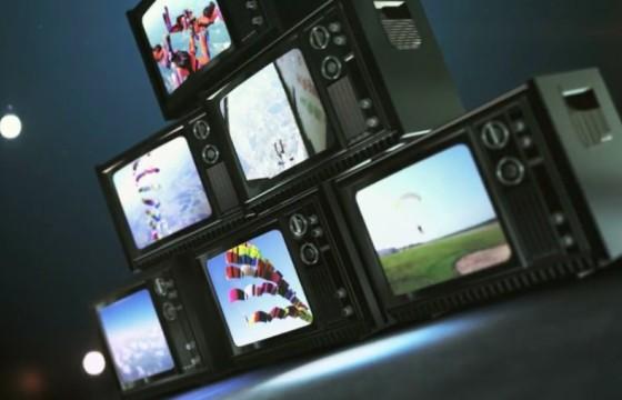AE模板 80年代老式电视机开场预告片展示 What Now Youtuber
