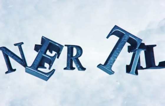AE模板 冬季雪花飞舞 三维文字预告片标题 Winter Trailer Titles