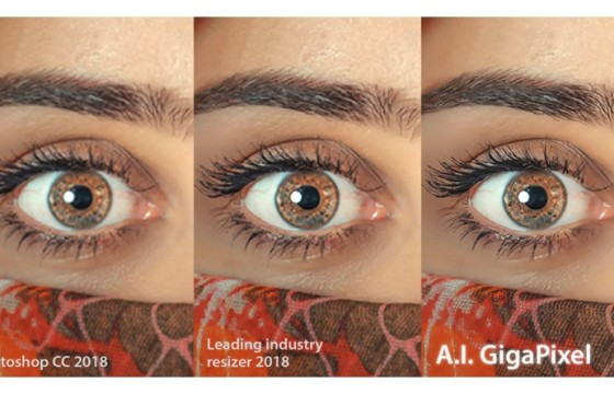 超强的人工智能图像放大软件 Topaz Labs A.I.Gigapixel v1.0.1